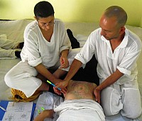Zen Shiatsu 3 - learning and mapping the hara diagnosis and locating the energetic organ association areas on the body.