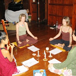 Workshop of Yoga and Vedic Chanting, Three Lotus House (near Chiang Mai, Thailand)